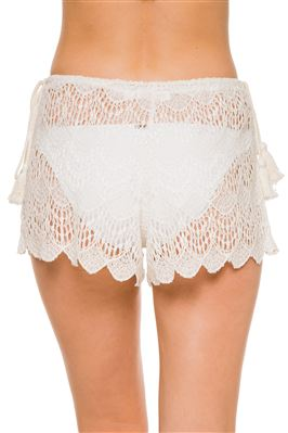 Flamenco Lace Shorts
