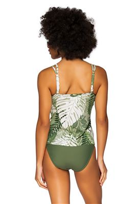 Taylor Over The Shoulder Tankini Top (E-H Cup)