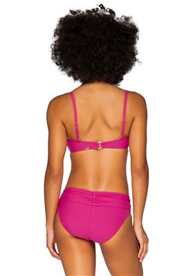Iconic Twist Underwire Bandeau Bikini Top (D+ Cup)
