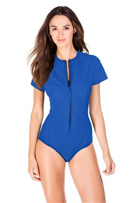 Short Sleeve One Piece