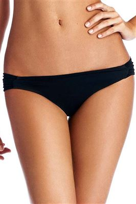 Antibes Ruched Tab Side Hipster Bikini Bottom
