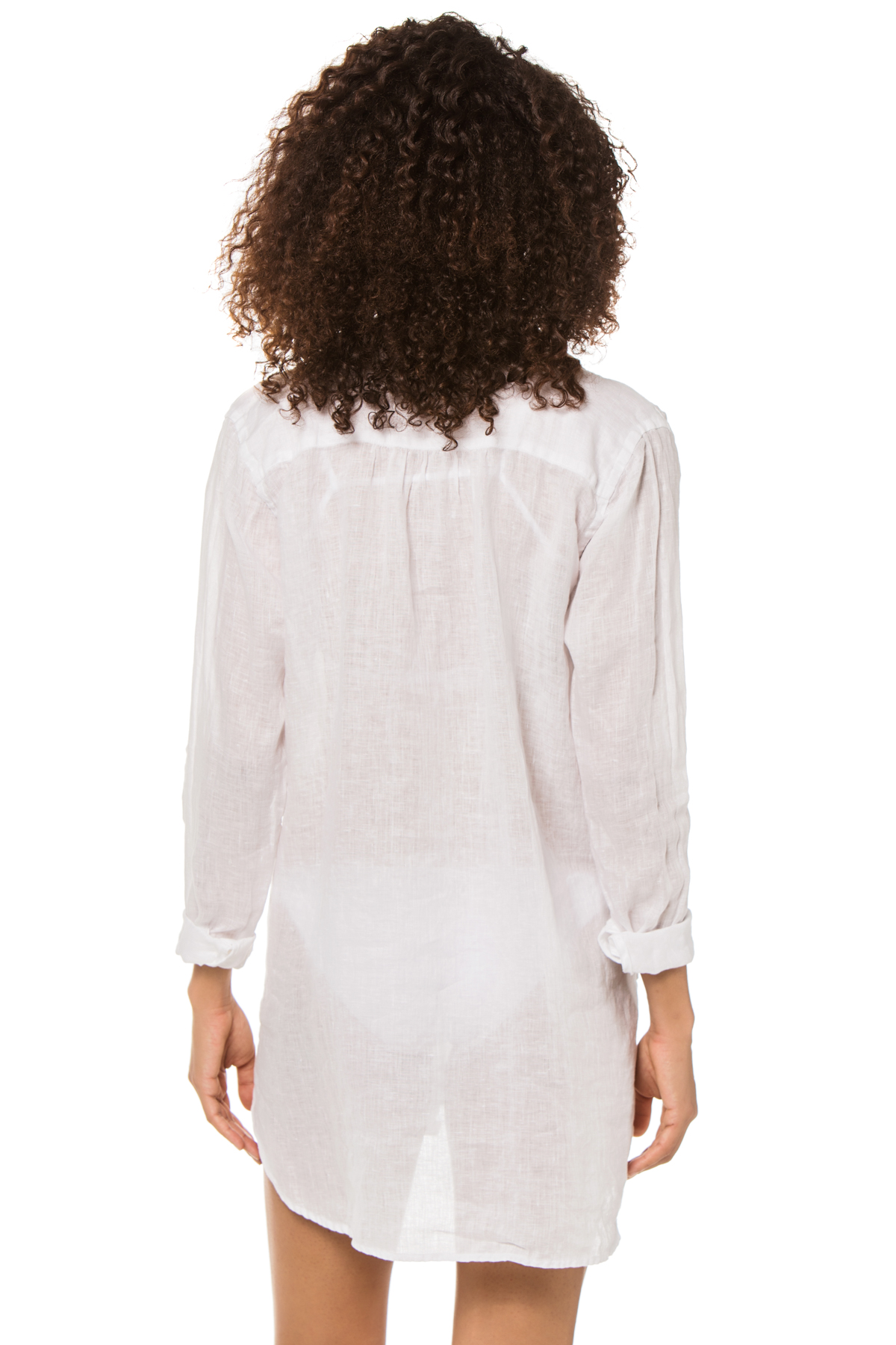 Teton Long Sleeve Tunic - White 6