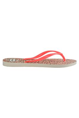 Slim Animal Leopard Flip Flops