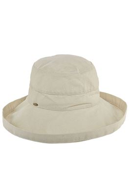 Scala Stitched Band Bucket Hat