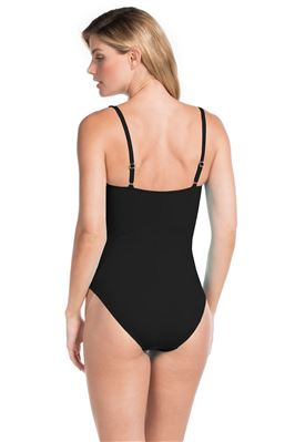 Sweetheart Over The Shoulder One Piece Swimsuit