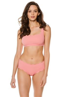 Palm Springs Scalloped Bralette Bikini Top