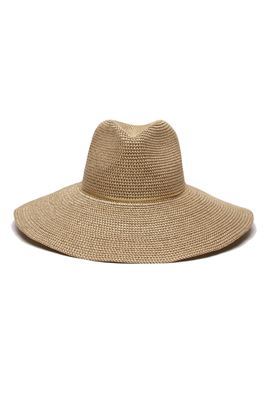Sancho Toyo Leather Trim Fedora