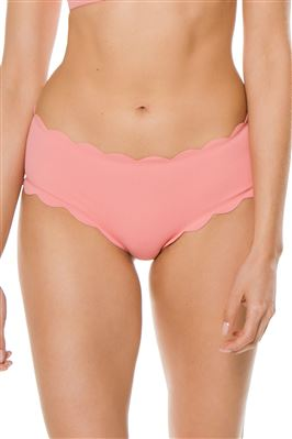 Spring Scalloped Boyshort Bikini Bottom