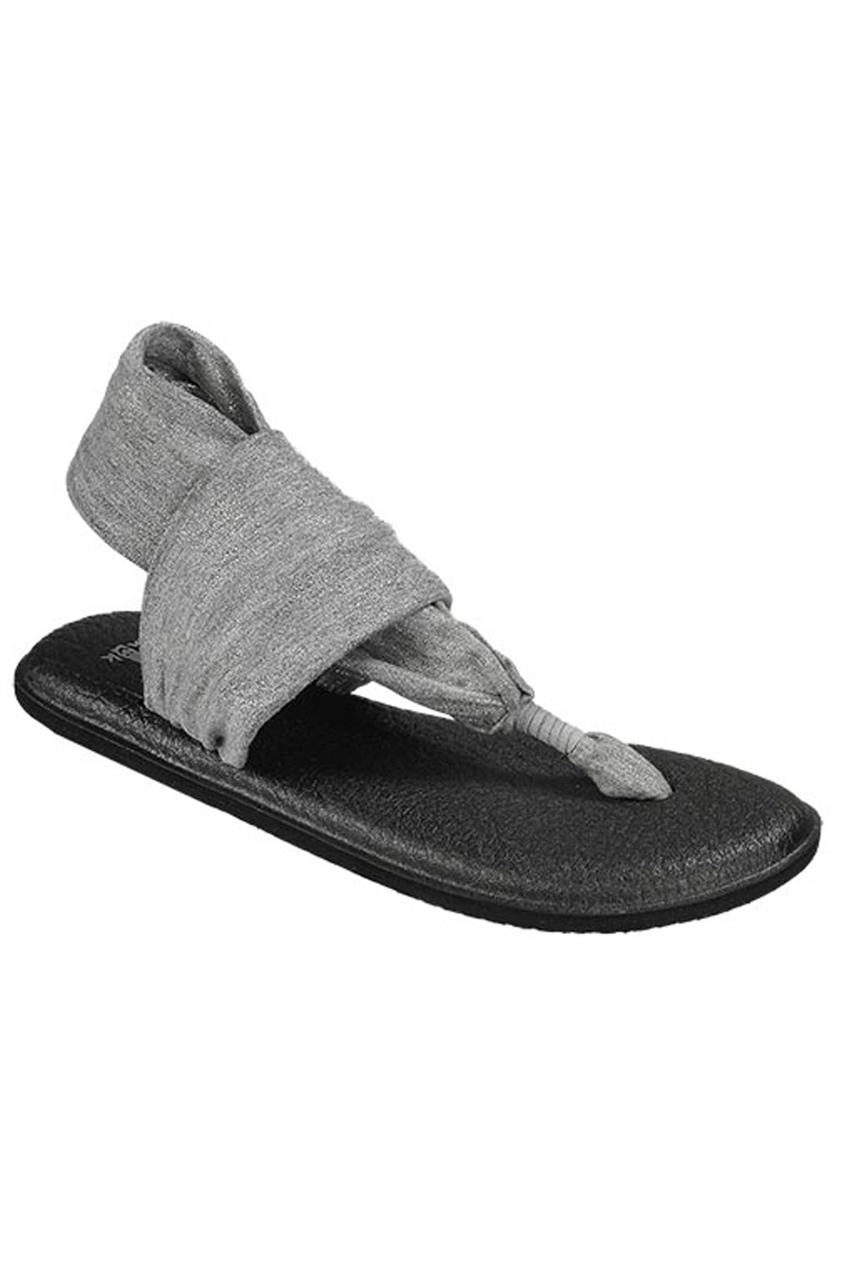 Yoga Sling Silicone Sandals - Silver 1
