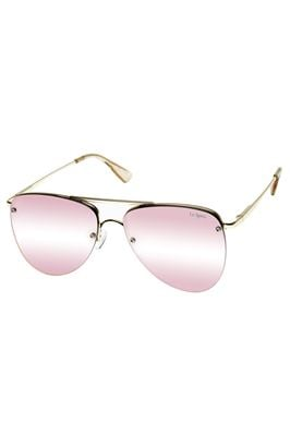Prince Peach Mirror Lens Aviator Sunglasses