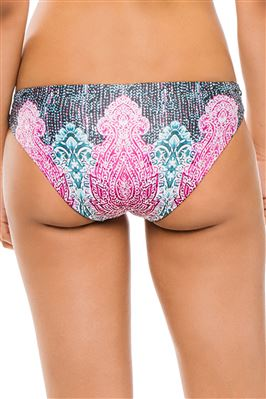 Lattice Tab Side Hipster Bikini Bottom