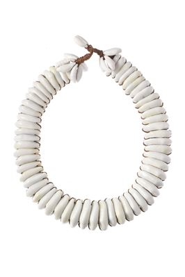 Cowrie Stacked Choker