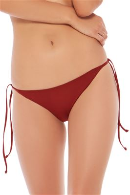 Lily Reversible Tie Side Hipster Bikini Bottom