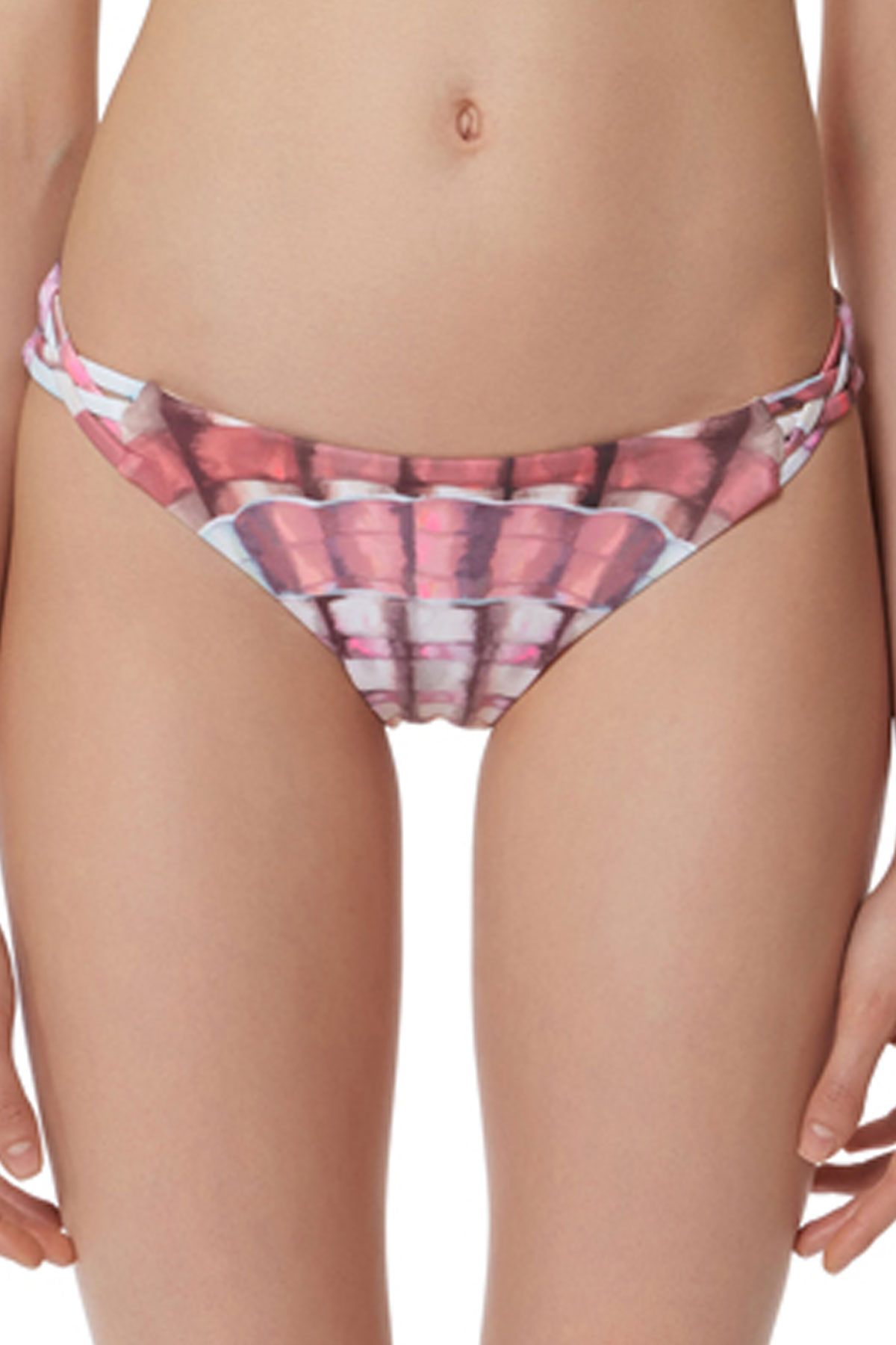 Tab Side Hipster Bottom - Flamingo