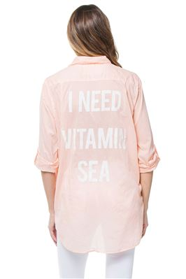 I Need Vitamin Sea Blouse