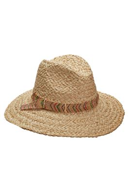 Chevron Band Panama Hat