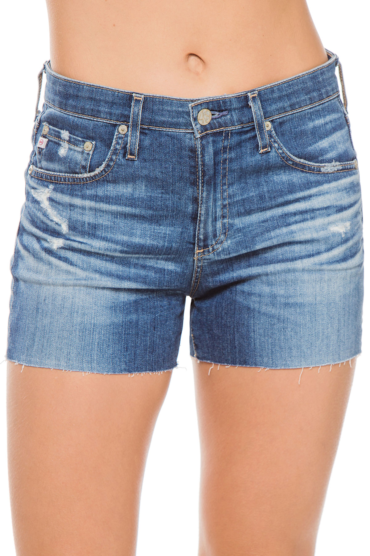 Denim Cut Off Shorts - 15 Years Boundless