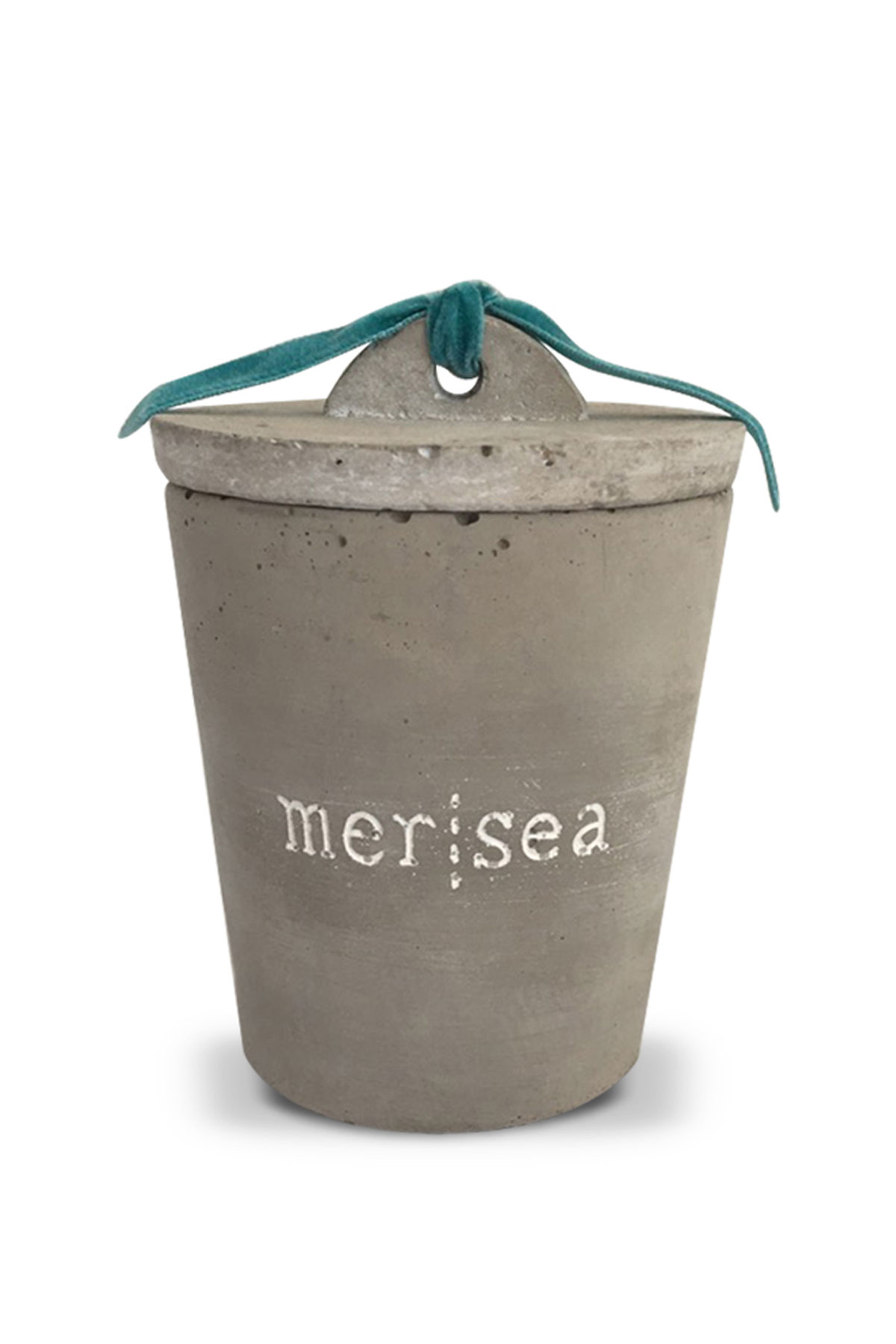 Carena Cement Candle Cup - Gray 2