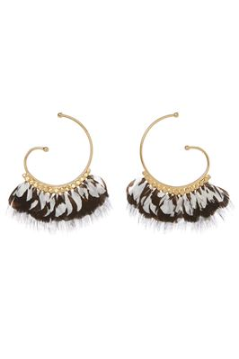 Buzios Feather Earrings