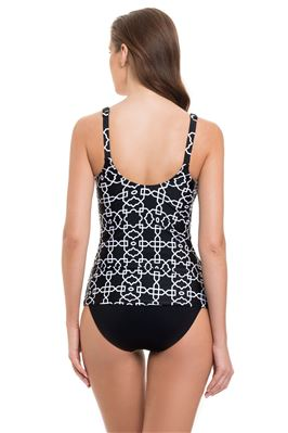 Classic Over The Shoulder Tankini Top (D Cup)
