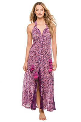 Honey Button Up Maxi Dress