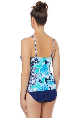 Taylor Underwire Over The Shoulder Tankini Top