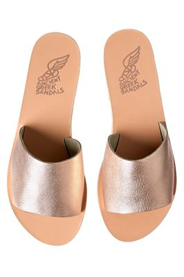 Wide Metallic Strap Slides