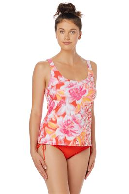 Riley Over The Shoulder Tankini Top