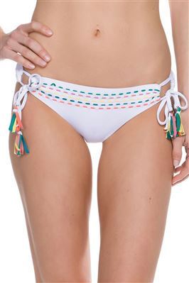 Handwoven Loop Tie Side Hipster Bikini Bottom