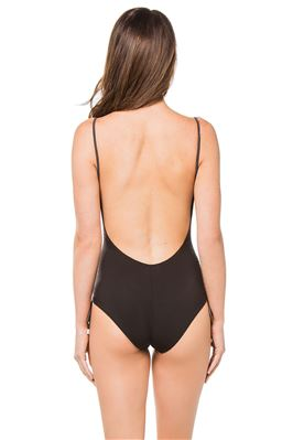 Uma Keyhole Over The Shoulder One Piece Swimsuit