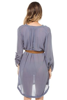 Darwin Sheer Gauze Dress