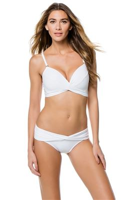 Molded Underwire Over The Shoulder Bikini Top (D  Cup)