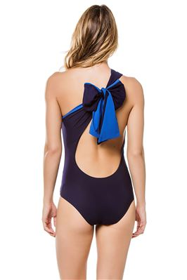 Melika Reversible Asymmetrical One Piece Swimsuit