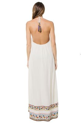 Jonie Embroidered Maxi Dress