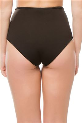 Palm Springs Foldover High Waist Bikini Bottom