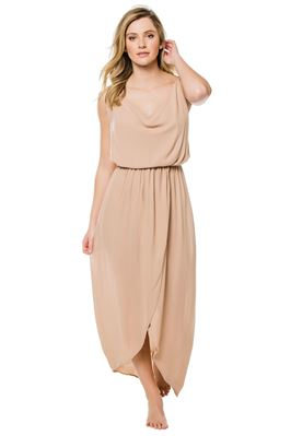 Eden Cowl Neck Maxi Dress