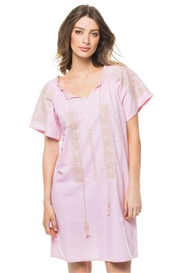 Mid-Length V-Neck Tunic