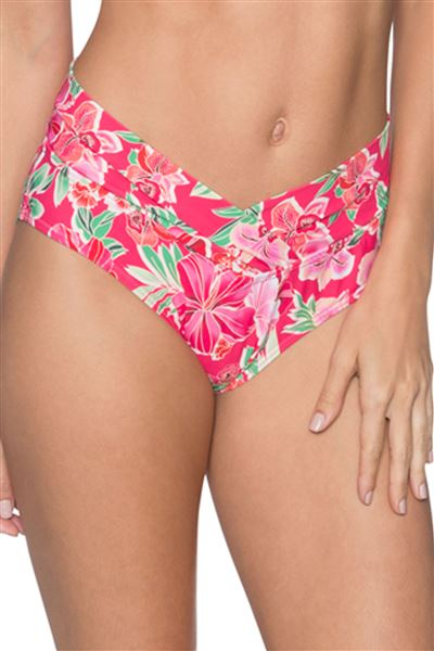 Banded High Waist Bottom - Honolulu - 16