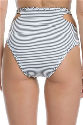 Reversible Vintage Cut High Waist Bikini Bottom