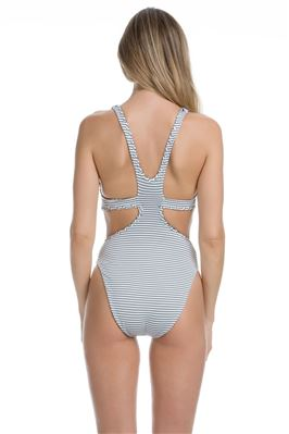 Reversible Cutout One Piece Swimsuit