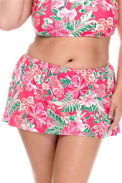Skirted High Waist Bottom - Honolulu - 16