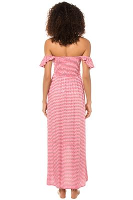 Paradise Off The Shoulder Maxi Dress