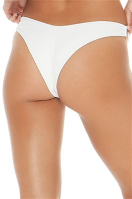 High Leg Ring Side Brazilian Bikini Bottom
