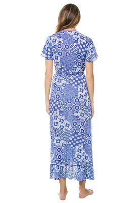 Joe Wrap Maxi Dress