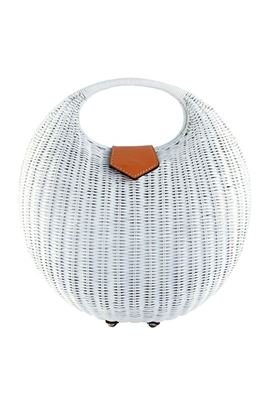 Elena Round Wicker Handbag