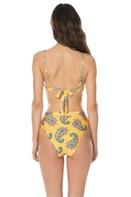 Rickrack Over The Shoulder Bikini Top