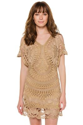 Python Cold Shoulder Tunic