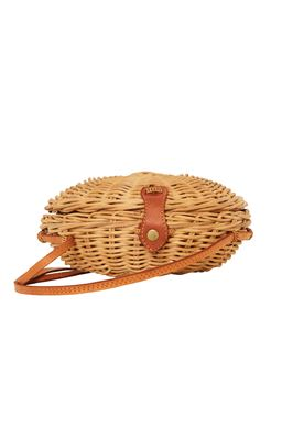 Carlos Circular Wicker Handbag