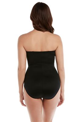 Madrid Underwire Bandeau One Piece Swimsuit