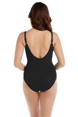 Sanibel Underwire Over The Shoulder One Piece Swimsuit